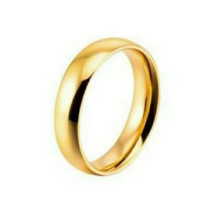 18k Gold Plated Wedding Ring